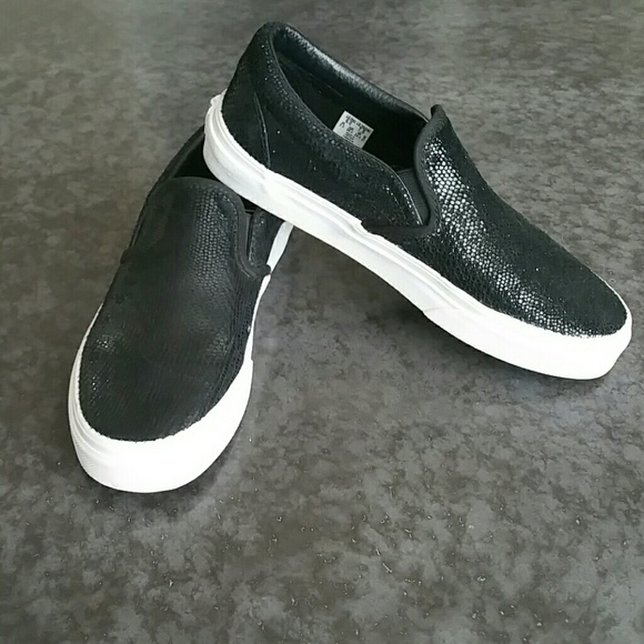 Vans Size 7.5 Black
